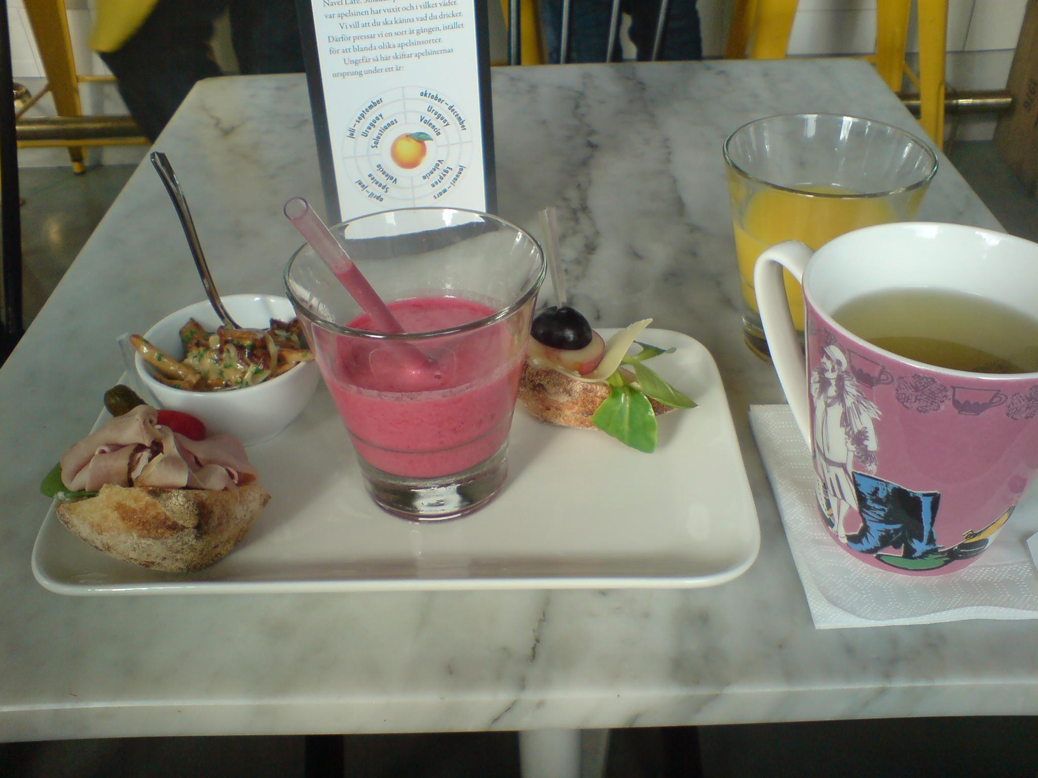 Smaskig frukost på Urban Deli