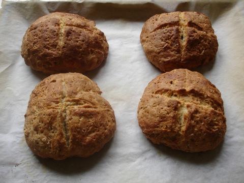 Nybakta scones