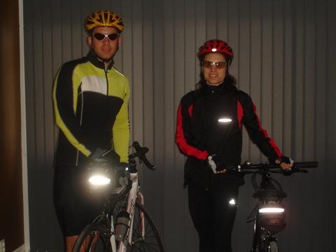 Redo för cykeltur
