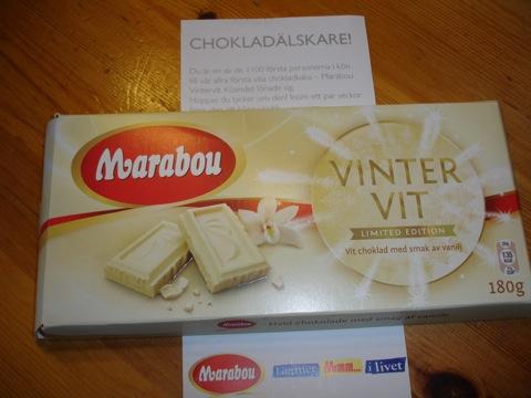 Marabou VIntervit Limited Edition