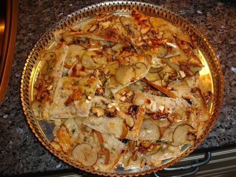 Pizza till förrätt