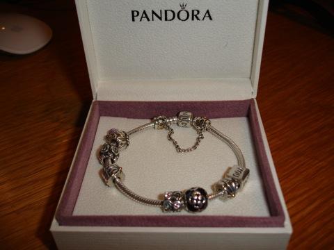 Mitt Pandora-armband