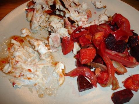 Kyckling och rotsaker