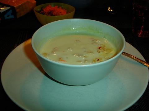 Kelda sparris-soppa