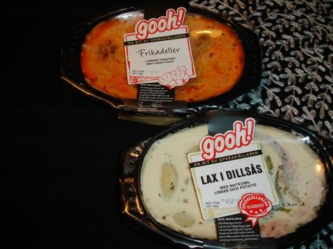 Maträtter från Gooh