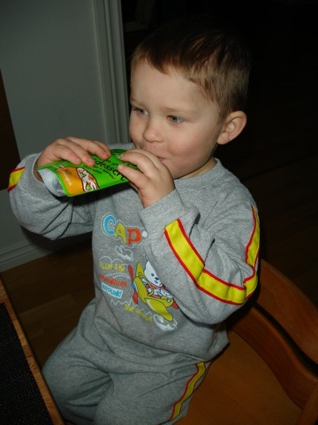 Gustaf testar Yum yum yummy risdessert