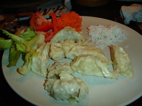 Ångkokta dumplings