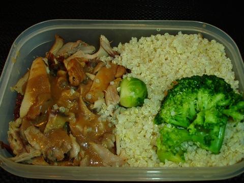 Kyckling och quinoa