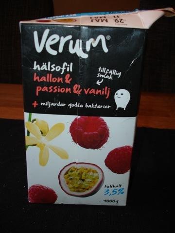 Sommarens smak på Verum Hälsofil
