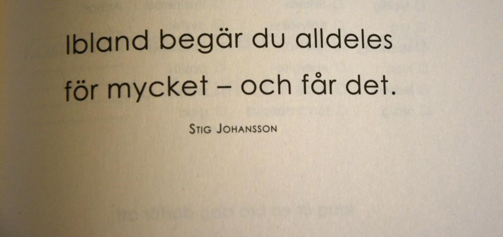 Ett av bokens alla tänkvärda citat