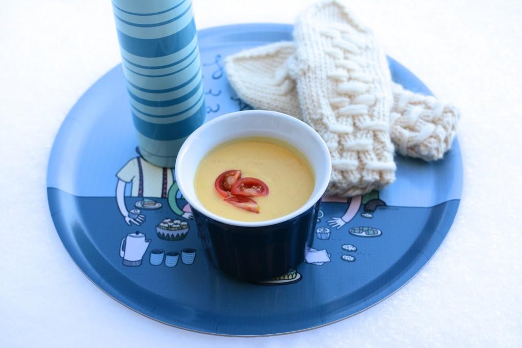 Riktigt krämig och god majssoppa!