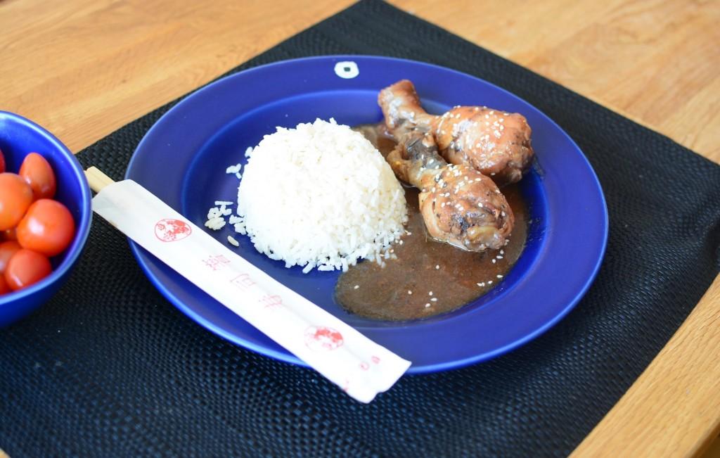 Kyckling i sötsur sås i Crock Pot