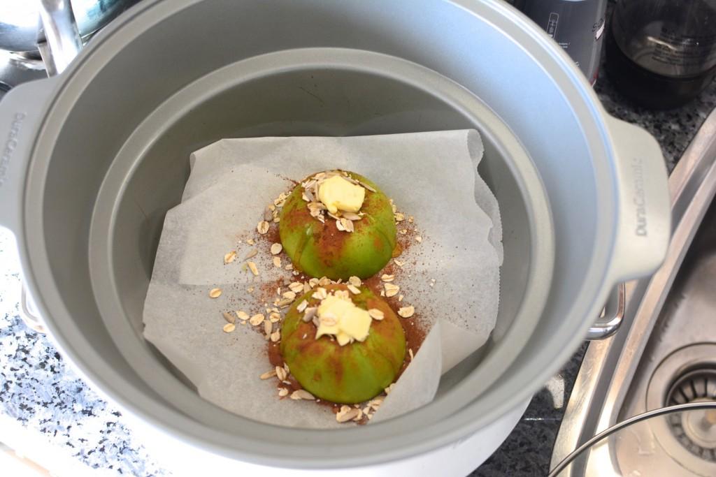 Dags att baka Kanel- och honungsbakade äpplen i Crock Pot