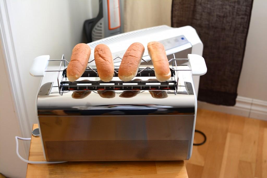 Perfekt för att värma korvbröd.