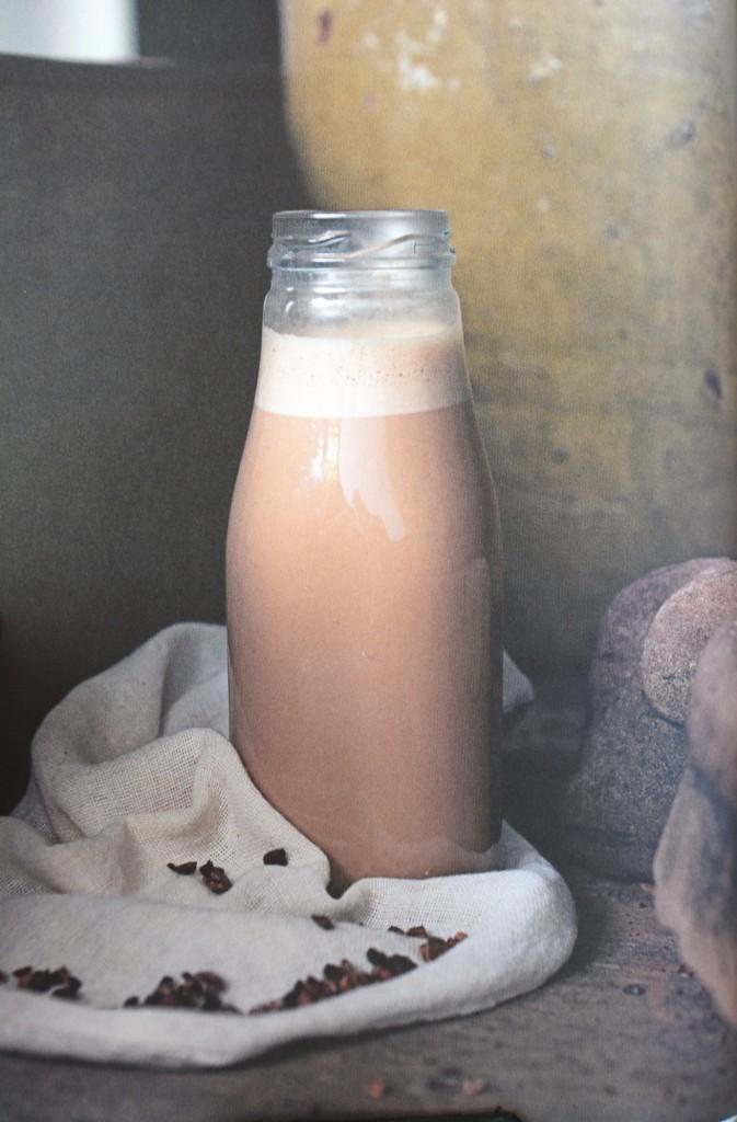 Choklad- och hasselnötsmjölk.