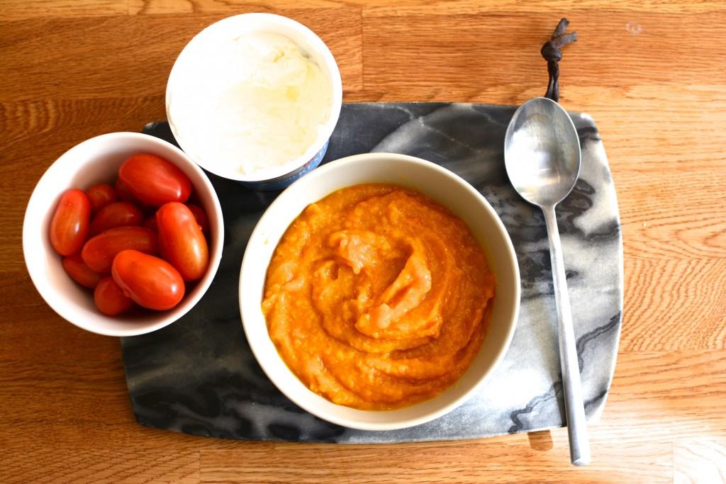 Saffransdoftande sötpotatissoppa i Crock Pot