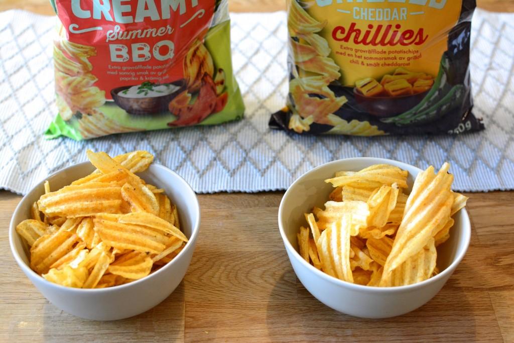 Extra grovräfflade chips för extra mycket smak!