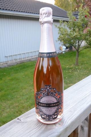 Rosa champagne från Hatt et Söner