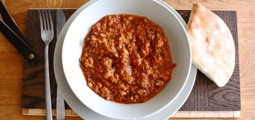 Smakrik chili con carne i Crock Pot