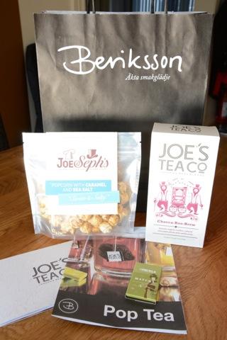Här ska testas Pop Tea och Matcha te-choklad från Beriksson