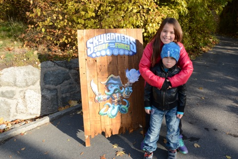 Event för Skylanders SWAP Force på Skansen