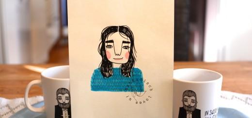 Porträtt av mig!