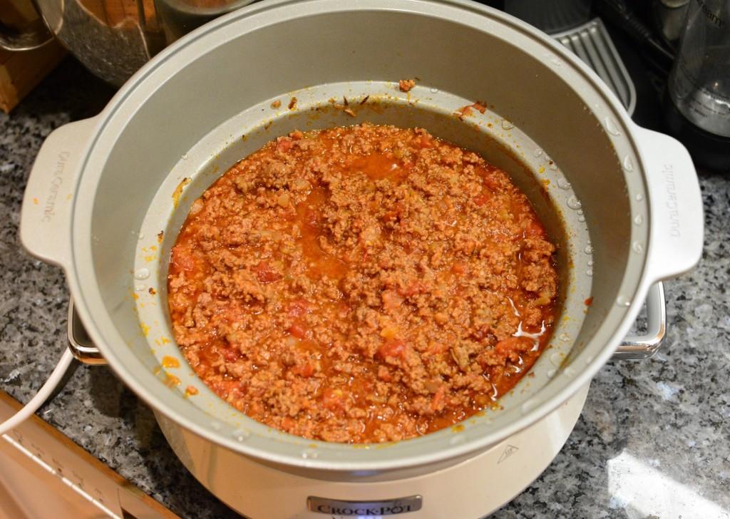 Bästa köttfärssåsen i Crock Pot