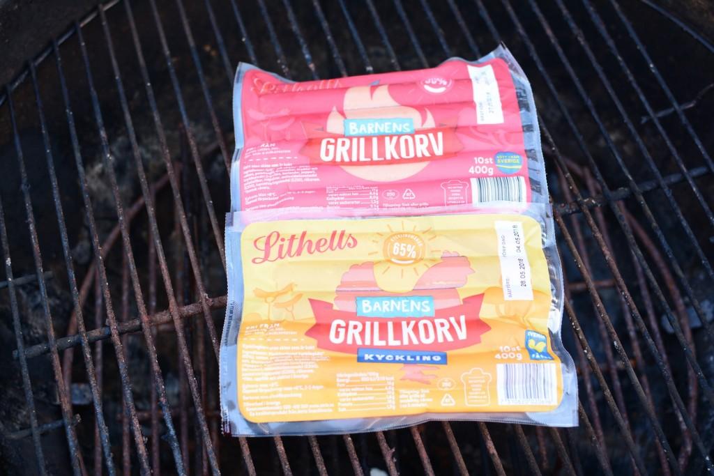 Populära Barnens grillkorv nu med nyheten Barnens grillkorv kyckling.