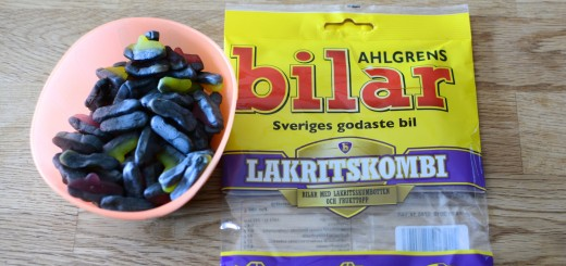 Ahlgrens Bilar Lakritskombi.