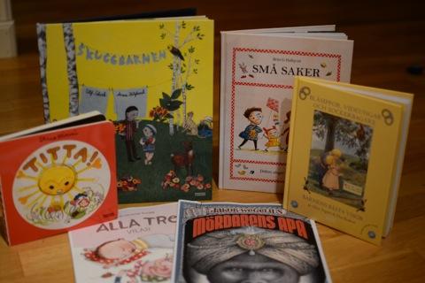 En urval av vårnyheterna hos Bonnier Carlsens barnboksläpp