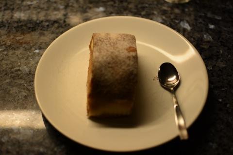 En tårtbit från konditoriet blev kvällens efterrätt