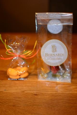 Bernardis torronenougat och mandarinmandlar från Mucci