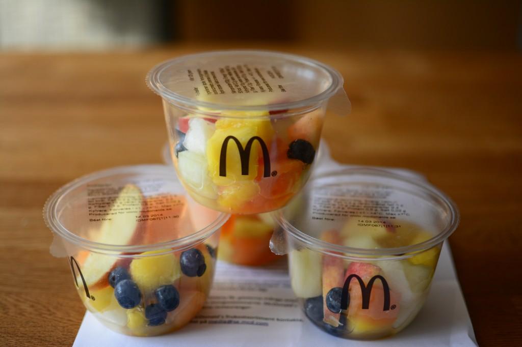 Underbar färsk fruktsallad