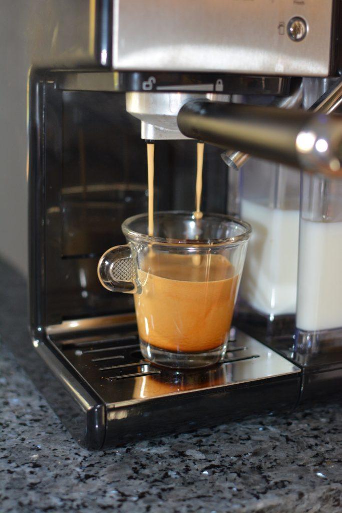 Nybryggd espresso
