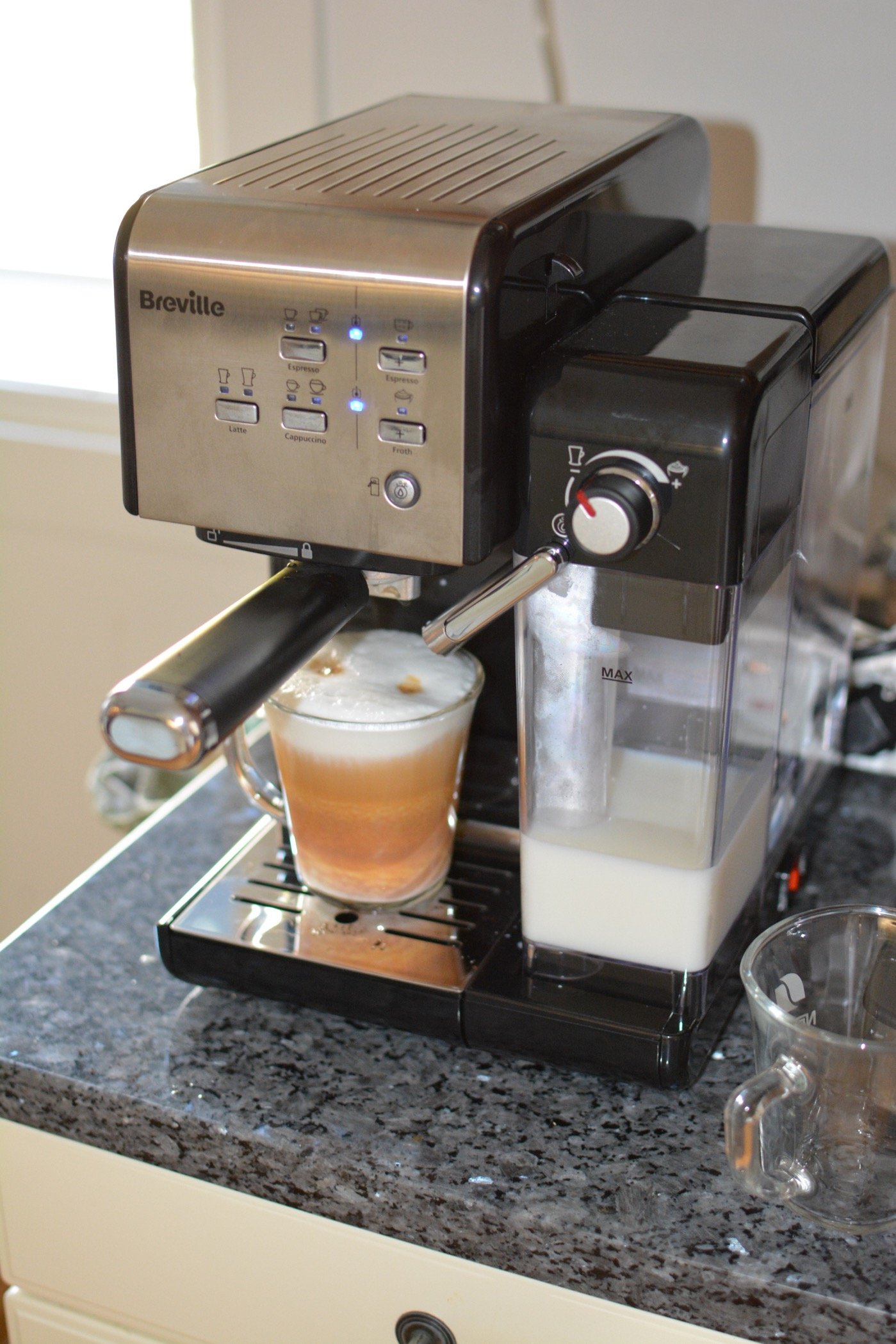kaffe latte maskin