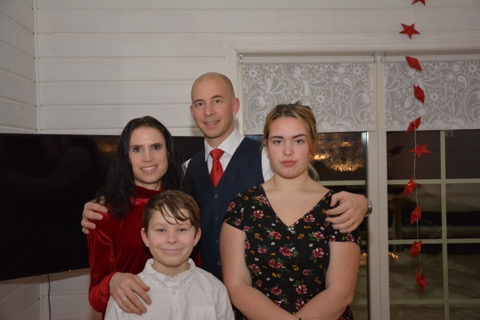 Den årliga familjebilden!