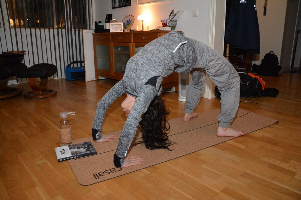 Casall yoga mat natural cork