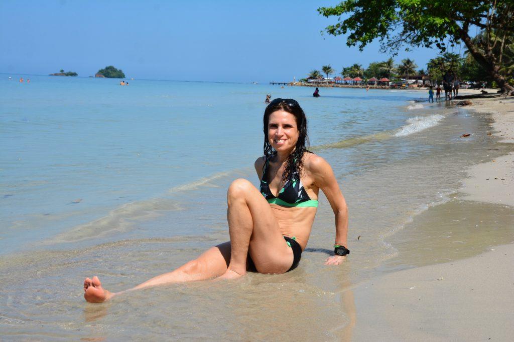 Koh Changs bästa stränder, här Kai Bae Beach