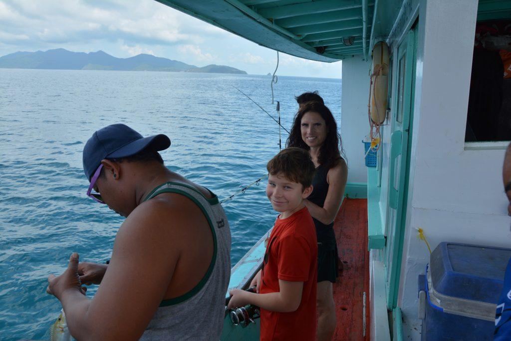 Dags att testa på det Thailändska fisket.