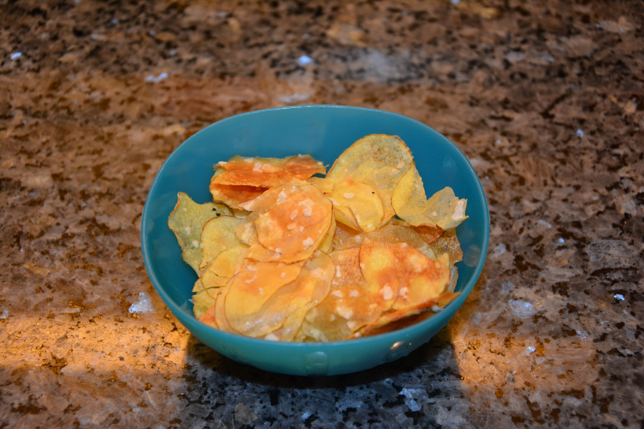 Nyttiga hemgjorda chips