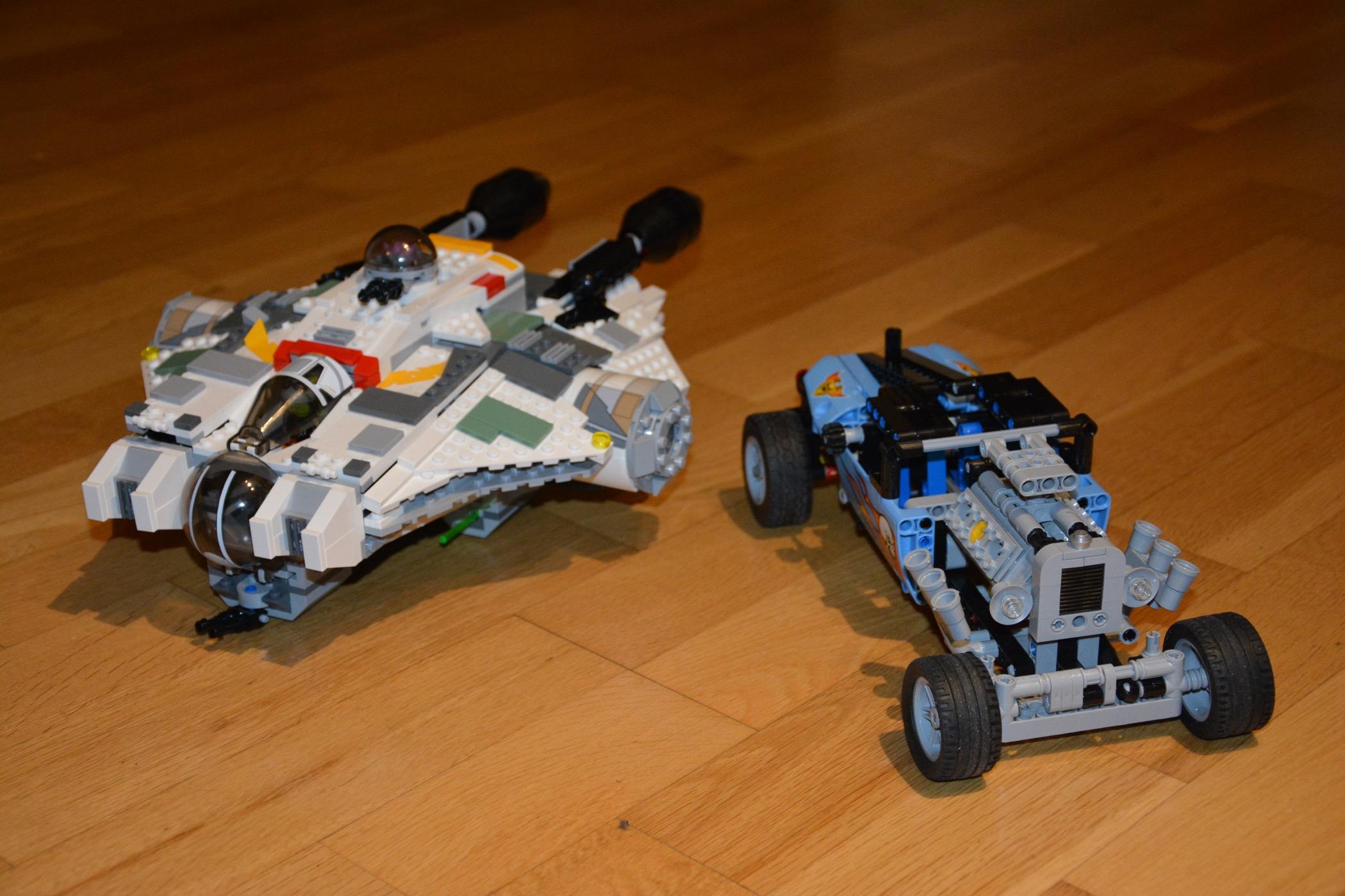 Lego Star Wars och Lego Technic
