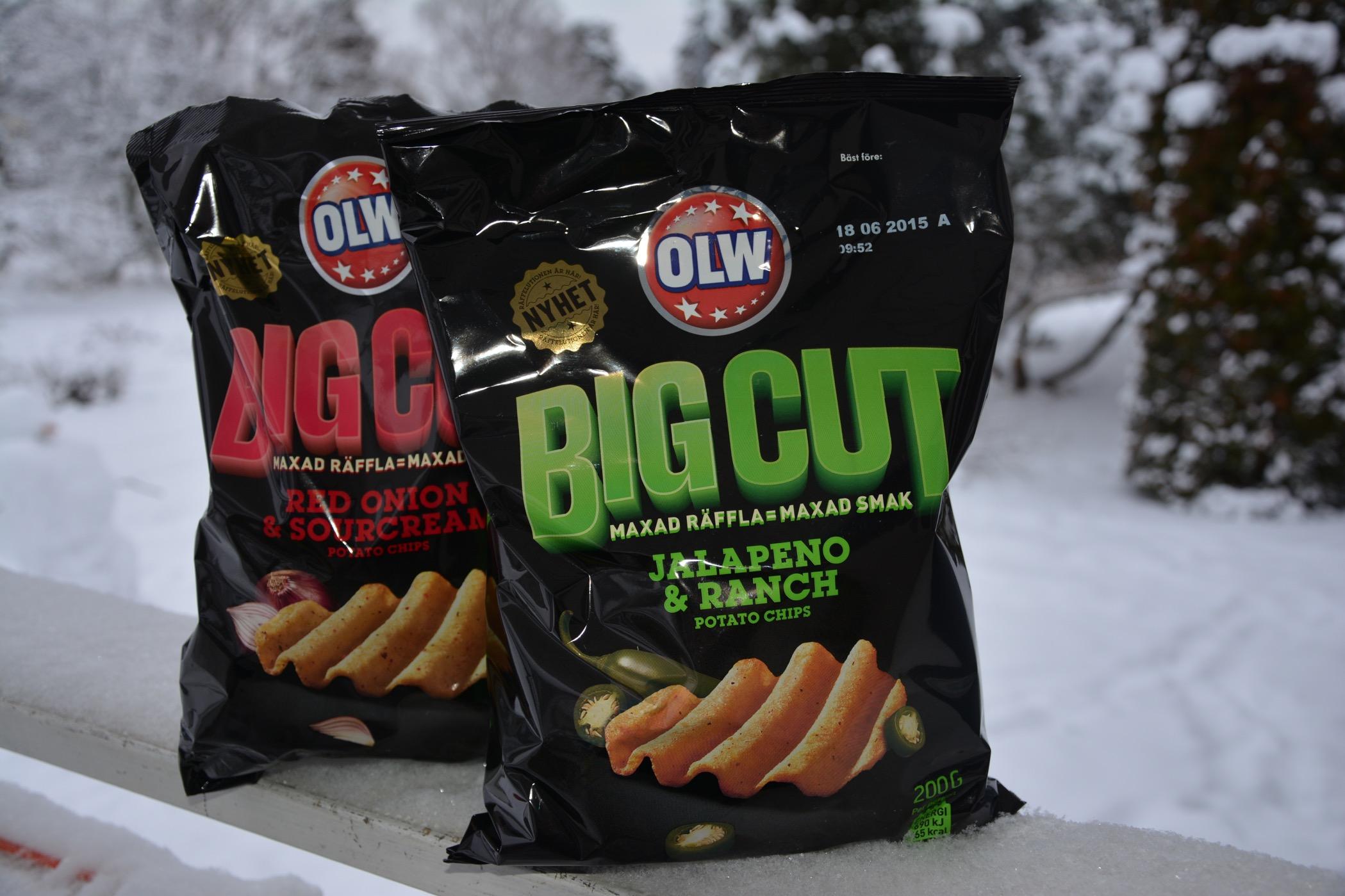 OLW Big Cut - nyhet i chipshyllan