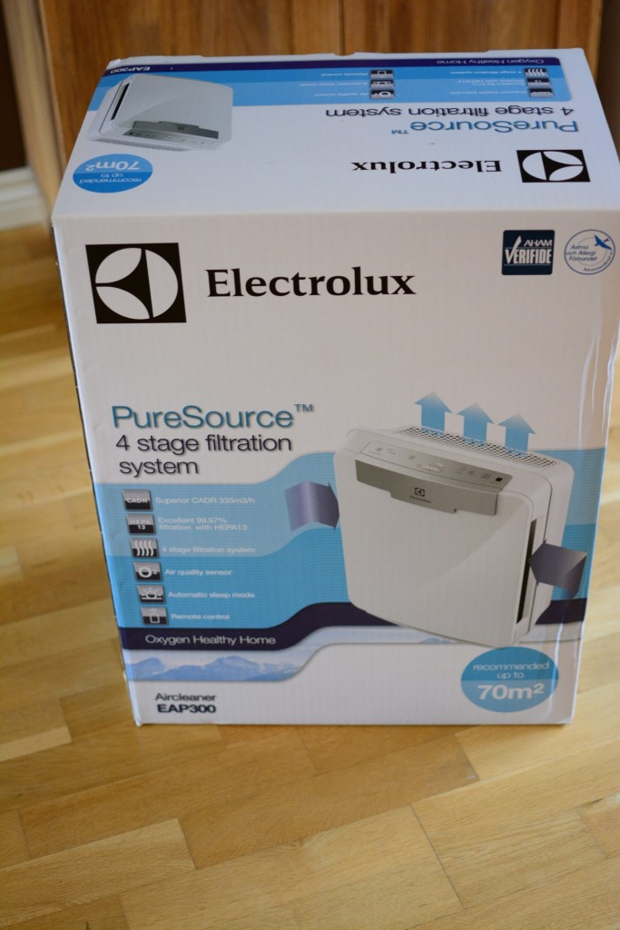 Electrolux Oxygen EAP300. En luftrenare som ska ge bättre luft.