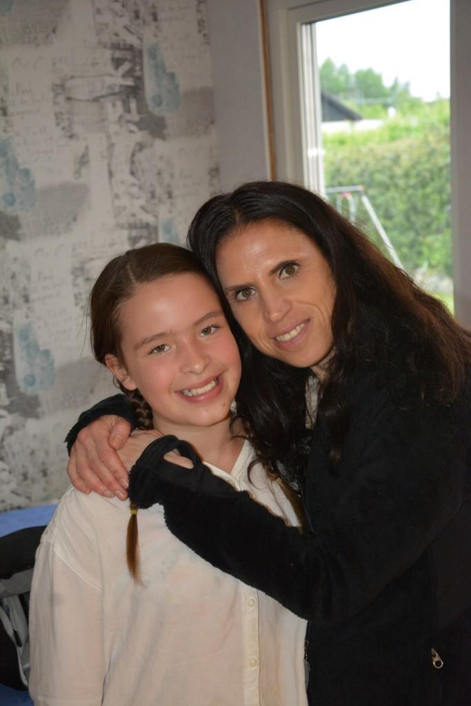 Jag och 11-åringen på midsommarafton!