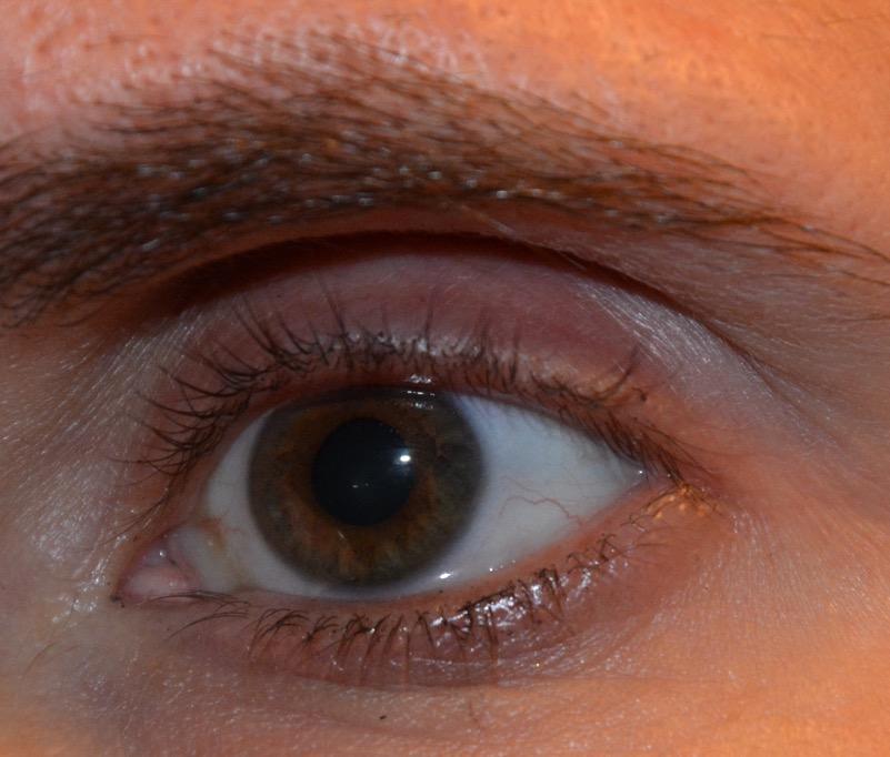 Mitt öga utan mascara