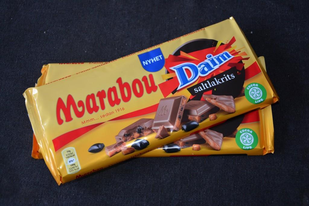 Marabous nya smak Daim och saltlakrits