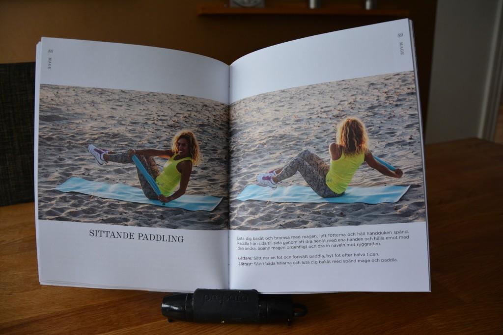 Sittande paddling