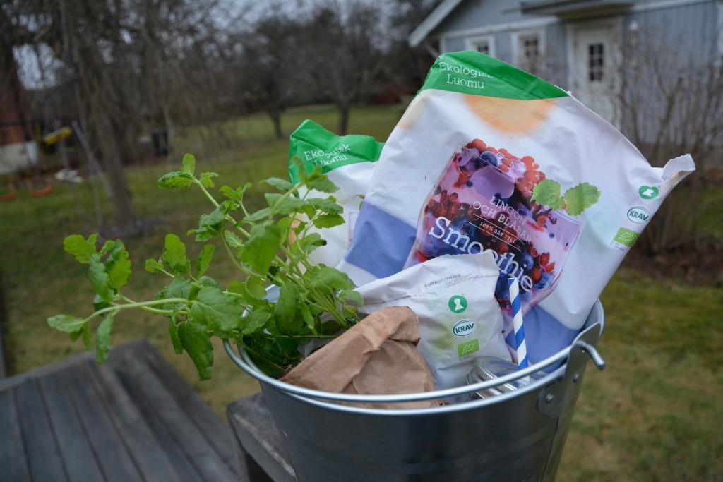 Mixa vildare med ekologiska, portionsförpackade bär