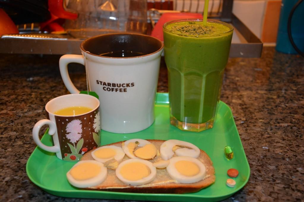 Starta dagen med en nyttig grön smoothie till frukost
