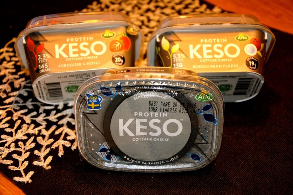 Extra proteinrika nyheter från Keso